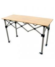 Bar pliable - plateau en bois - 140 x 50 cm