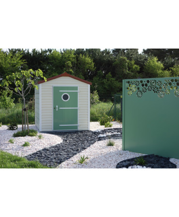 Abri de Jardin Mimosa 5m²
